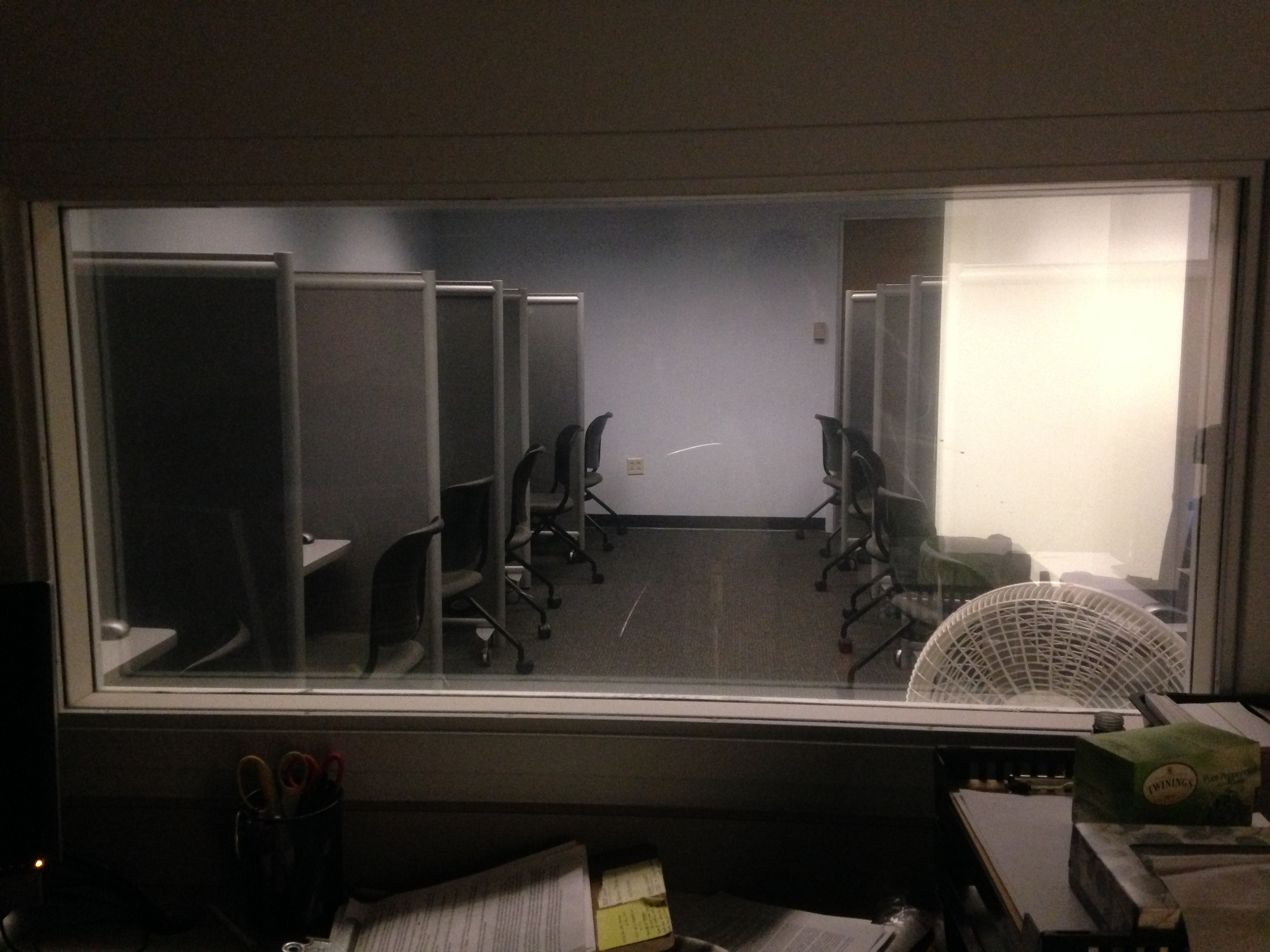 Social Psychology computer lab at The Ohio State University