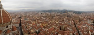 A panorma of Florence
