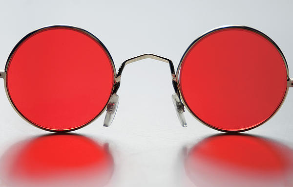 Rose-colored glasses can change your perception of reality