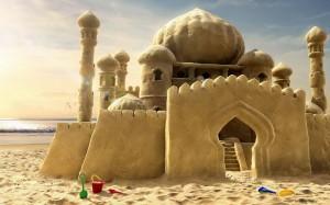 sand castle parable riddle