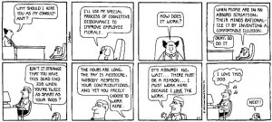 This comic does a great job of explaining cognitive dissonance.