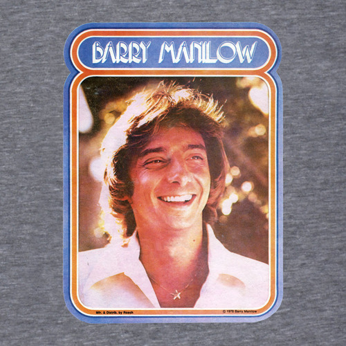 photo of Barry Manilow poster