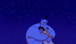 robin williams genie Aladdin