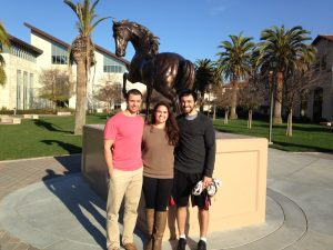 My brother, sister, and I in Santa Clara--one of my homes throughout my life.