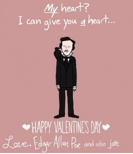 valentine's day poe psychology