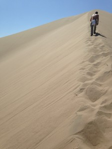 The deserts of Huacachina.