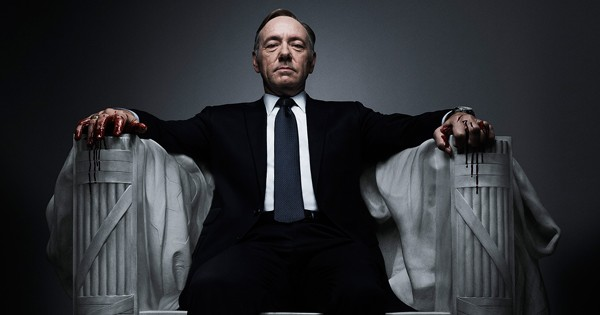 photo of Kevin Spacey sitting in chair