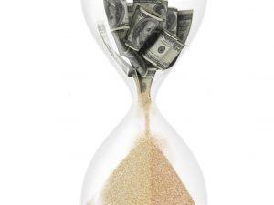 time-money-hourglass