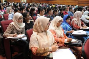 students sitting in lecture